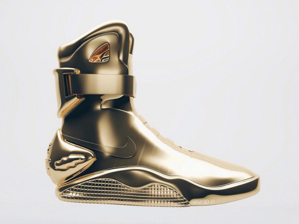 Nike Mag 3D Gold