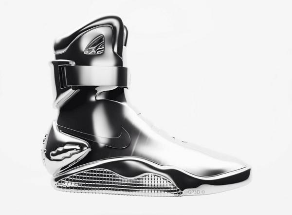 Nike Mag 3D Silver