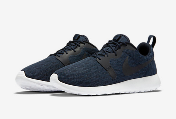 Nike Roshe One Hyperfuse Knit KJCRD Squadron Blue Dark Obsidian (1)