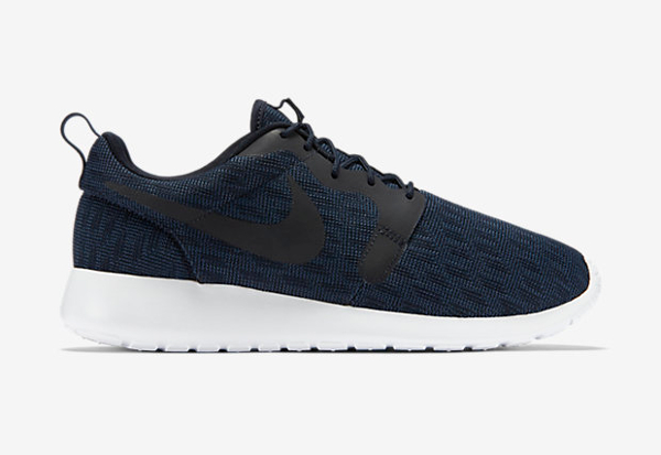 Nike Roshe One Hyperfuse Knit KJCRD Squadron Blue Dark Obsidian (2)