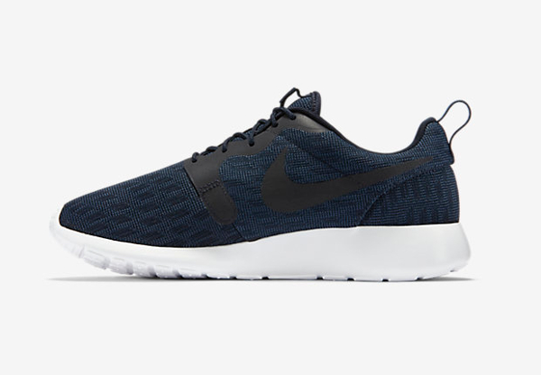 Nike Roshe One Hyperfuse Knit KJCRD Squadron Blue Dark Obsidian (3)