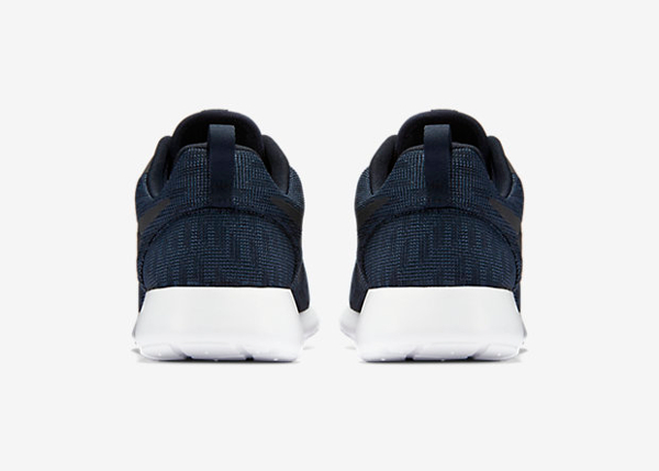 Nike Roshe One Hyperfuse Knit KJCRD Squadron Blue Dark Obsidian (4)