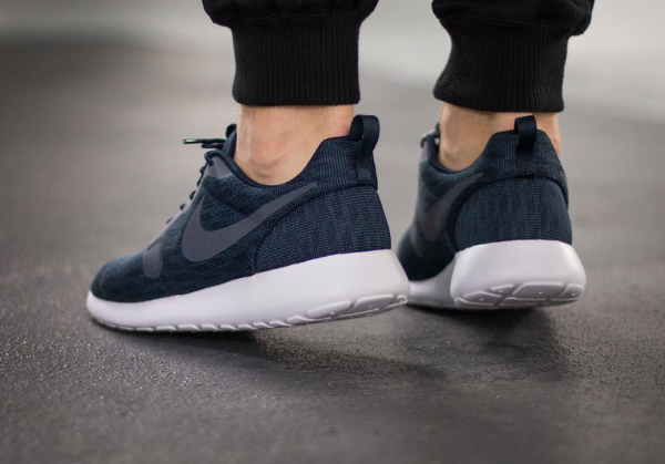 Nike Roshe One Hyperfuse Knit KJCRD Squadron Blue Dark Obsidian (5)