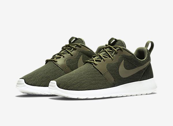 Nike Roshe One Hyperfuse Knit KJCRD vert kaki pour homme (1)