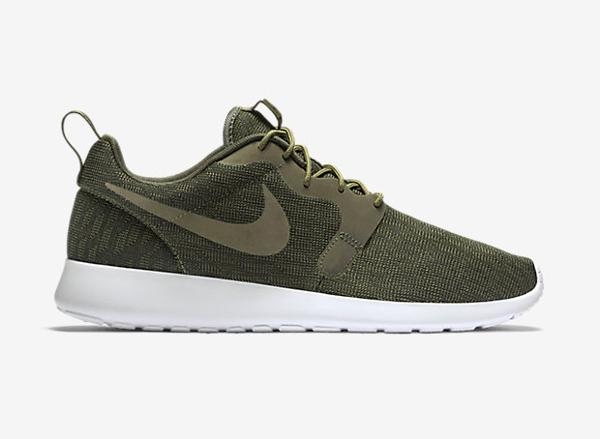 Nike Roshe One Hyperfuse Knit KJCRD vert kaki pour homme (3)