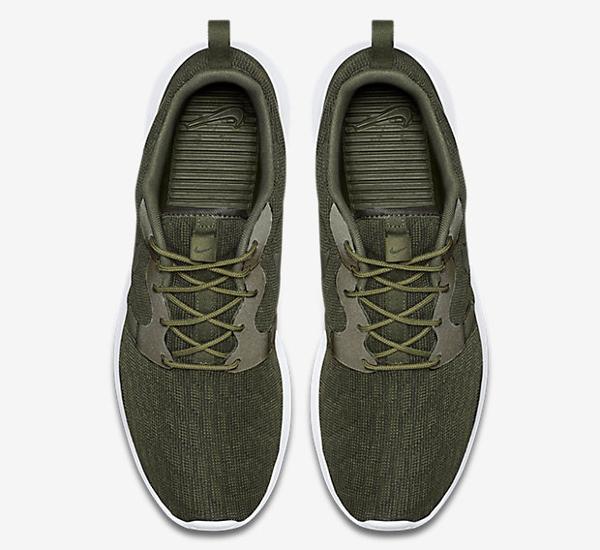 Nike Roshe One Hyperfuse Knit KJCRD vert kaki pour homme (6)