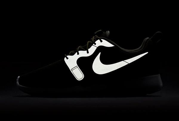 Nike Roshe One Hyperfuse Knit KJCRD vert kaki pour homme (7)