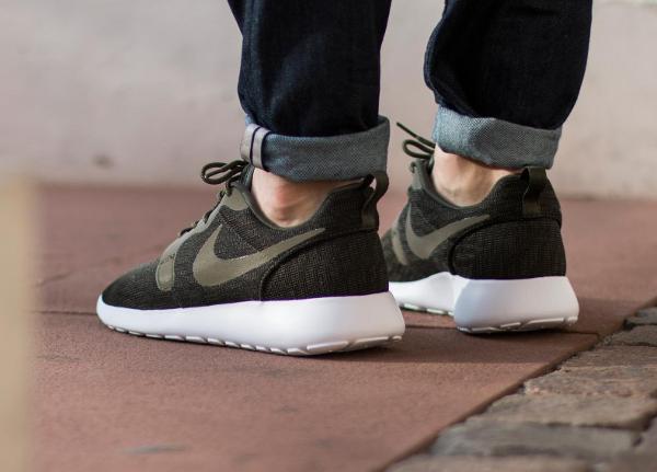 Nike Roshe Run Jacquard (automne 2015) khaki