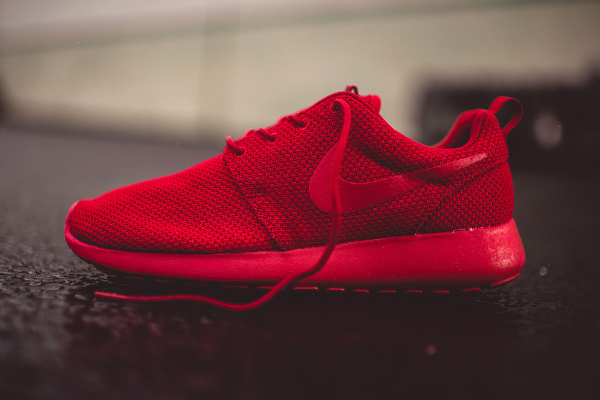 ... Nike Roshe Run rouge (1) ...
