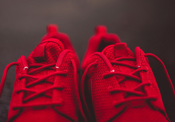 Nike Roshe Run rouge (2)