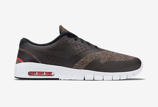 Nike SB Eric Koston 2 Max Brown Black Crimson (3)