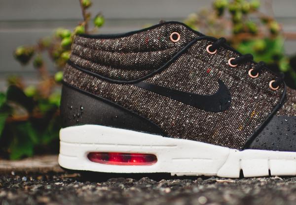 Nike SB Janoski Max Mid Brown Black Crimson (1)