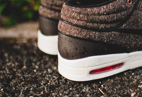 Nike SB Janoski Max Mid Brown Black Crimson (2)
