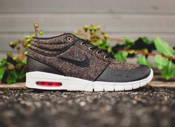 Nike SB Janoski Max Mid Brown Black Crimson