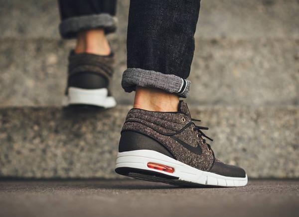 Nike SB Stefan Janoski Max Tweed Baroque Brown (2)