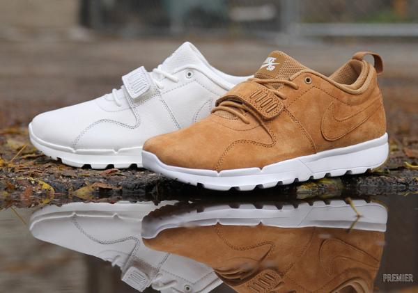 Nike SB Trainerendor PRM Flax & White Gum