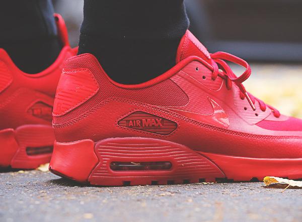 nike air max 90 ultra essential rouge