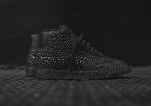 Nike Wmns Roshe Run & Blazer DMB 'Triple Black'