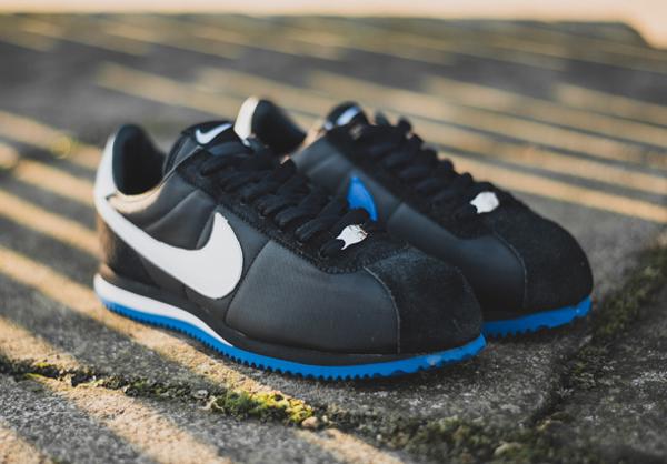 NikeLab Classic Cortez SP x UNDFTD Black Blue (1)