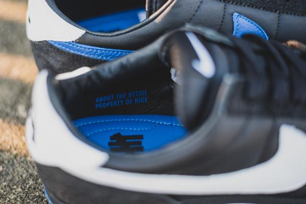 NikeLab Classic Cortez SP x UNDFTD Black Blue (2)