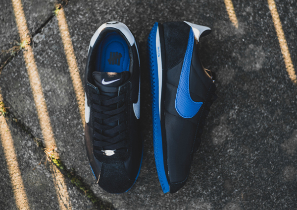NikeLab Classic Cortez SP x UNDFTD Black Blue (6)