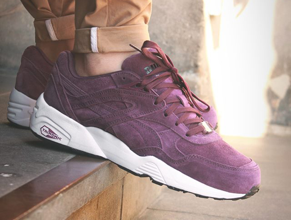 puma trinomic bordeaux r698