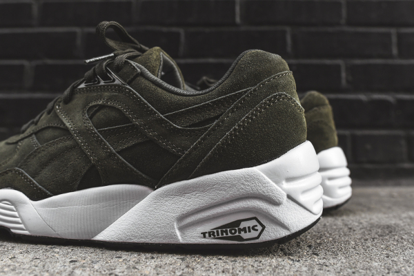 basket puma trinomic r698 allover suede