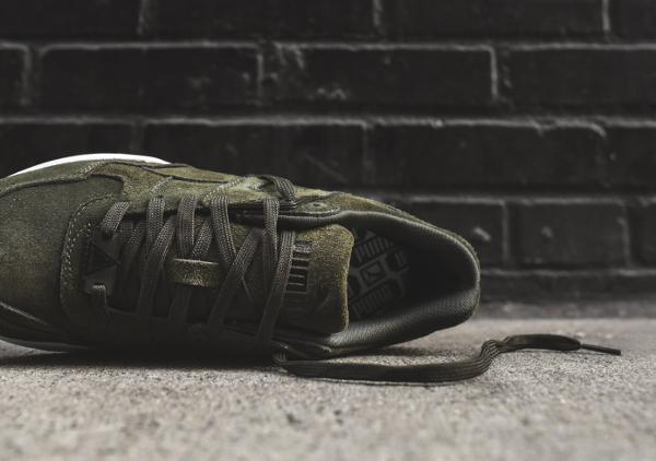 puma trinomic vert kaki