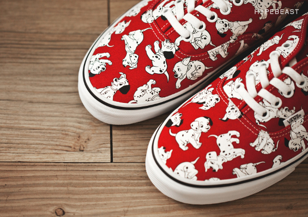 Vans Authentic 101 dalmatiens (1)