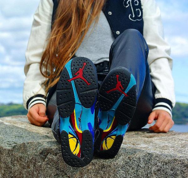 femme Air Jordan 8 Aqua - @britta_ruth920 (2)