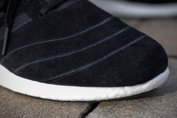 Adidas Busenitz Pure Boost Core Black pas cher (2)