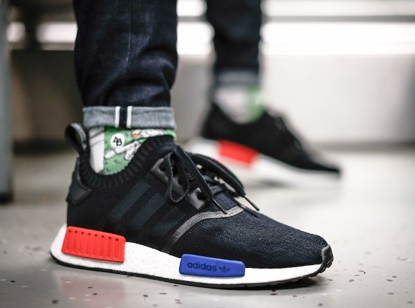 Adidas NMD Runner_1 Primeknit Core Black pas cher (3)
