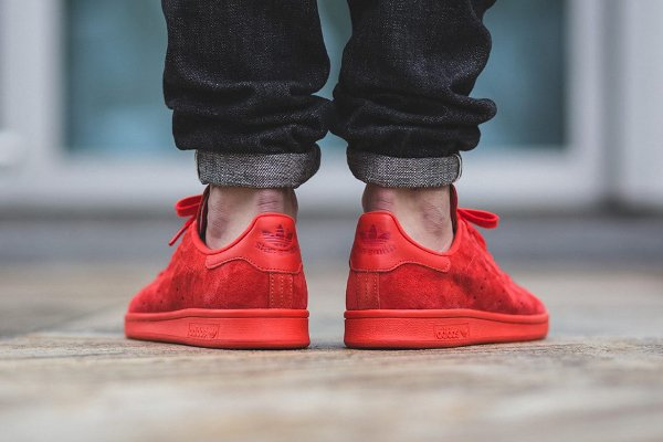 Adidas Stan Smith Power Red (2)