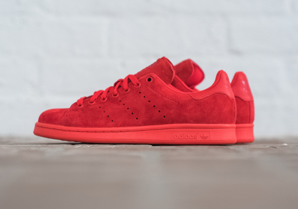 adidas stan smith pas cher rouge
