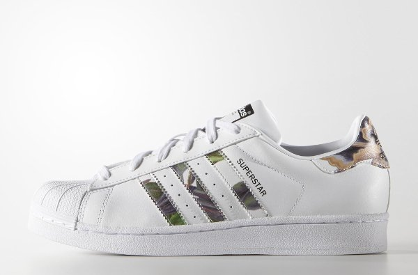 Adidas Superstar W Floral Stripes (4)