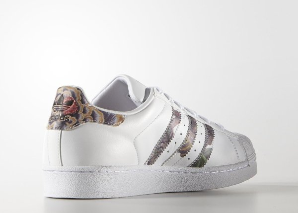Adidas Superstar W Floral Stripes (6)