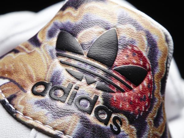 Où acheter la Adidas Superstar W Floral Stripes ?