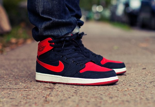 Air Jordan 1 KO High OG Bred pas cher (1)