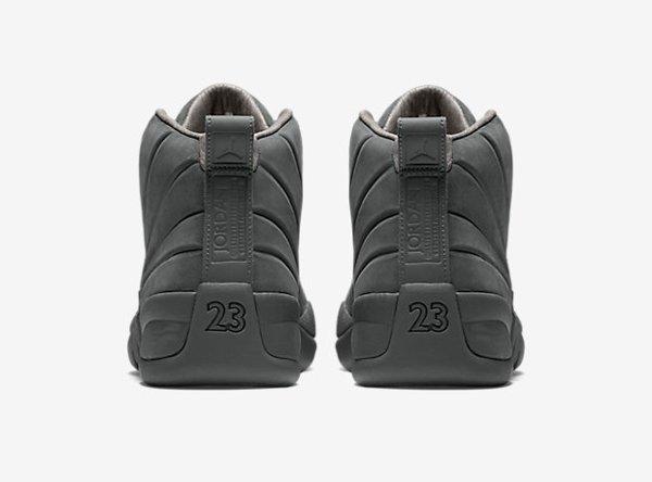 Air Jordan 12 x PSNY Dark Grey (2)