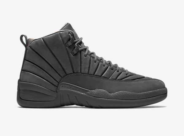 Air Jordan 12 x PSNY Dark Grey (5)
