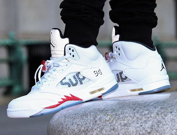 Air Jordan 5 x Supreme - @greatnotorious (1)