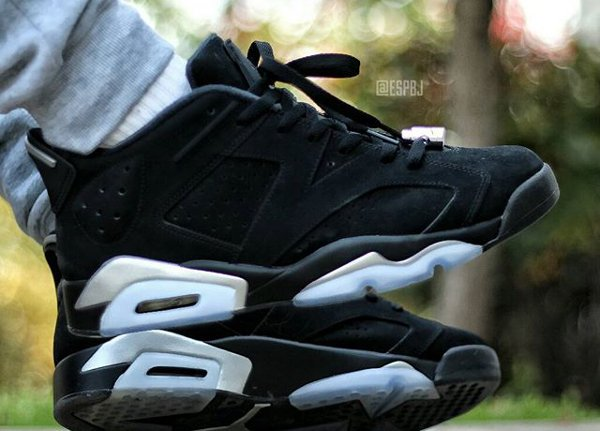 Air Jordan 6 Low Chrome - @espbj