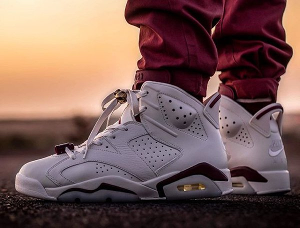 Air Jordan 6 Maroon 2015 - @malishoez1 (1)