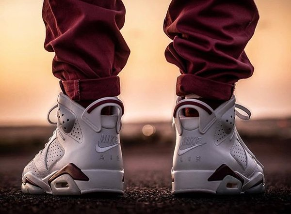Air Jordan 6 Maroon 2015 - @malishoez1 (2)