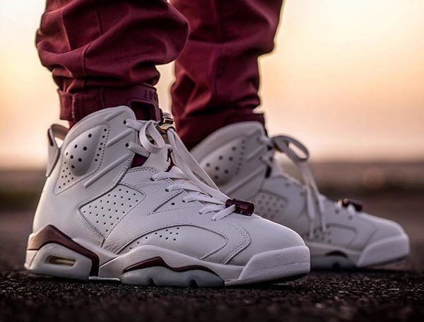 Air Jordan 6 Maroon 2015 - @malishoez1