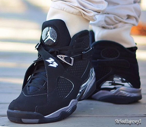 Air Jordan 8 Chrome Retro 2015 pas cher (11)