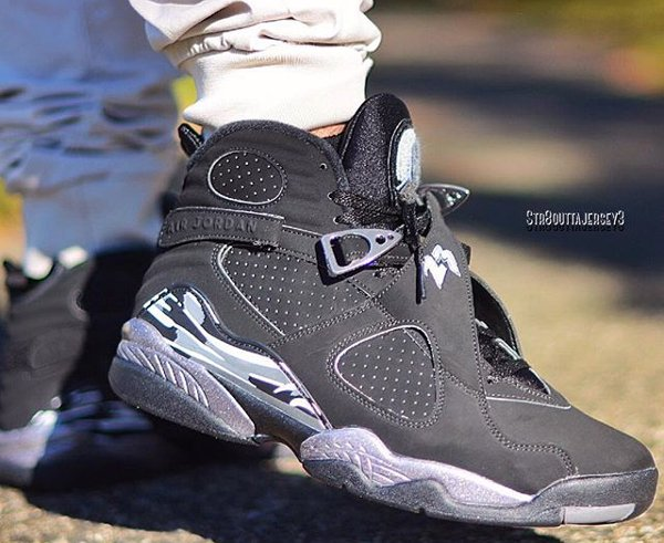 Air Jordan 8 Chrome Retro 2015 pas cher (12)