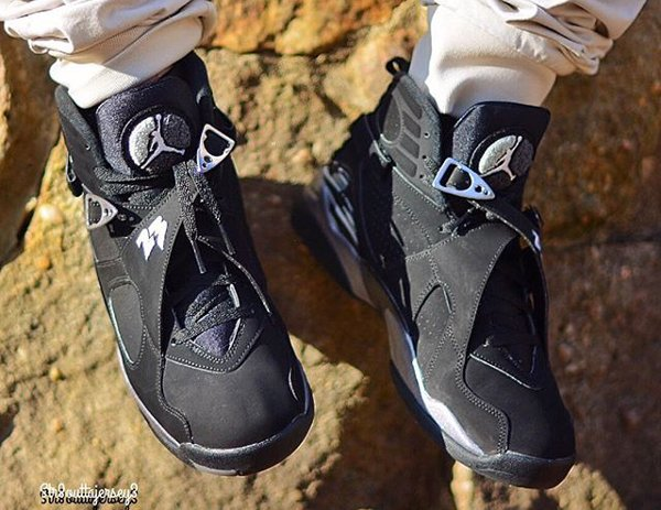Air Jordan 8 Chrome Retro 2015 pas cher (6)