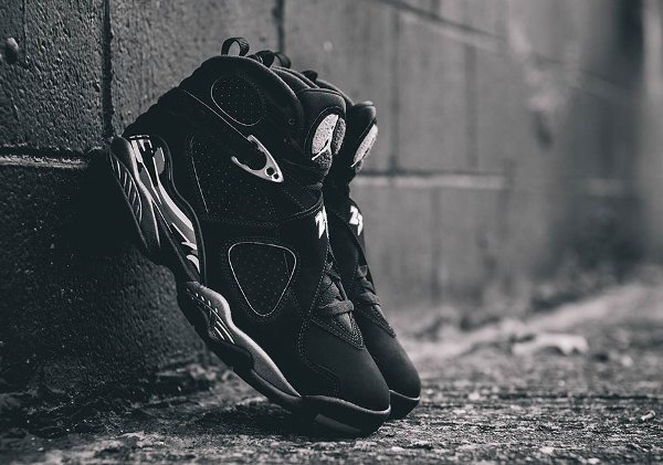 Air Jordan 8 Chrome Retro 2015 pas cher (7)
