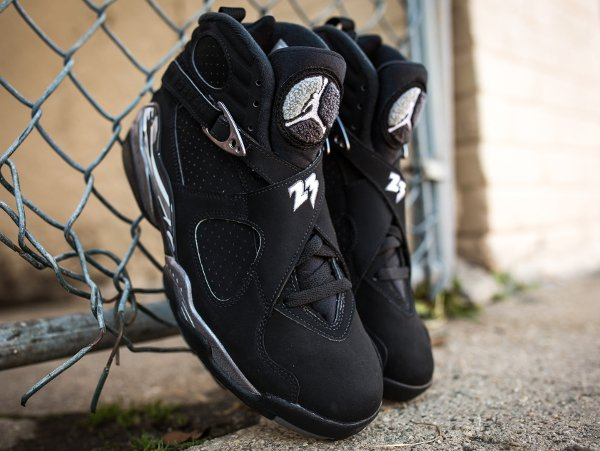 Air Jordan 8 Chrome Retro 2015 pas cher (9)